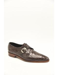 Sleek Toe Croc Imprint...