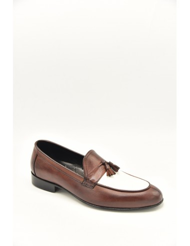 Two Color Classic Tasseled Loafers -...