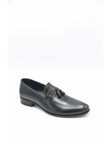 Classic Mode Plain Tasseled Loafers -...