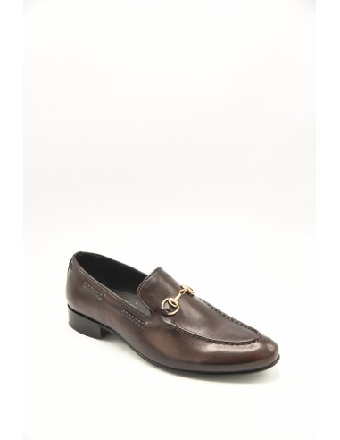 Apron Front Moccasins With Metal...
