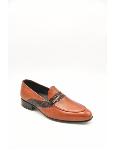 Stylish Leather Apron Front Loafers...