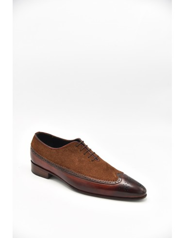 Modern Two Tone Oxford With Suede...