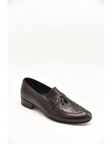 Classic Tasseled Loafers - Black