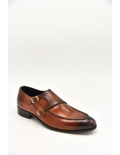Elegant Burnished Leather...