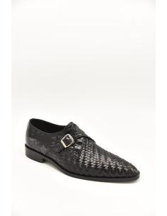 Woven Leather Sleek Toe...