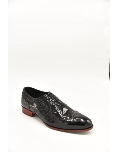 Contrasting Heel Patent Leather...