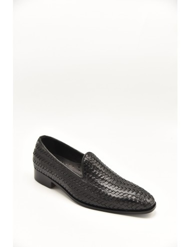 Modern Woven Leather Tapered Toe...