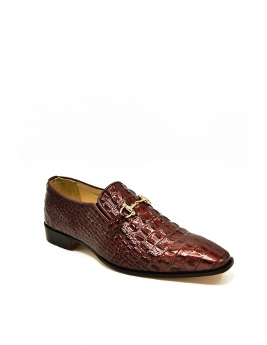 Croc Imprinted Tapered Toe Loafer -...