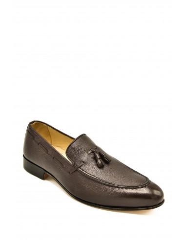 Classic Toe Tasseled Granola Leather...