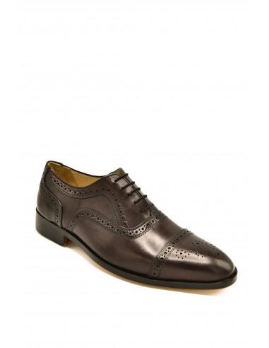 Classic Semi-Brogue Toe Cap Oxfords -...