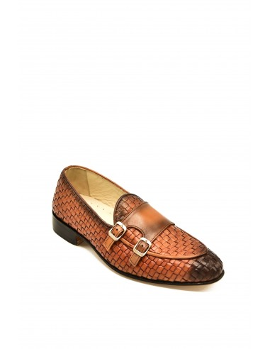 Burnished Double Monk In Woven...