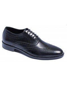 Classic Brogue Oxfords - Black